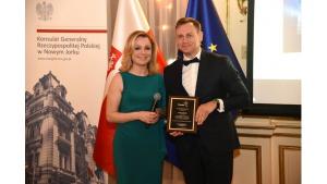 Fracht FWO uhonorowany za rozwój polsko-amerykańskiego partnerstwa gospodarczego