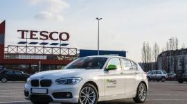 Auta na minuty już dostępne dla klientów Pasaży Tesco