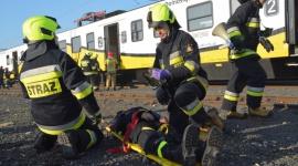 Ewakuacja pasażerów z pociągu Kolei Dolnośląskich Biuro prasowe