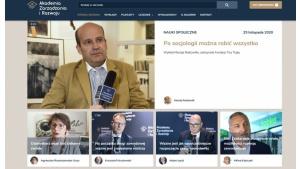 Jak zostać dziennikarzem, dla kogo socjologia – o tym na platformie azir.edu.pl Biuro prasowe