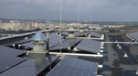 Miejska elektrownia słoneczna w Poznaniu oddana do użytku