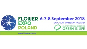 Flower Expo Poland 2018 together with GREEN IS LIFE Biuro prasowe