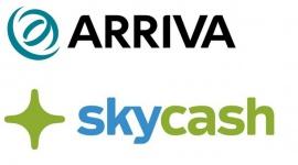 SkyCash w pociągach Arriva