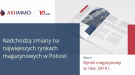 Raport – Rynek magazynowy w I kw. 2019 r.