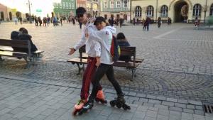 Rekord Polski dla dzieci z Przylądka Nadziei. Sztafeta 24 godziny na rolkach Biuro prasowe