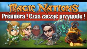 PrimeBit Games wydaje swój flagowy tytuł Magic Nations na Steam Biuro prasowe