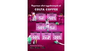 Repertuar Ofert Tygodniowych pełen wyjątkowych smaków Costa Coffee