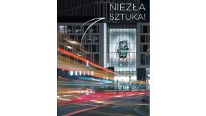 Cyfrowa rzeźba w centrum Warszawy Biuro prasowe
