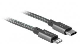 Delock: kable USB-C do Lightning z funkcją transmisji danych i szybkiego ładowan
