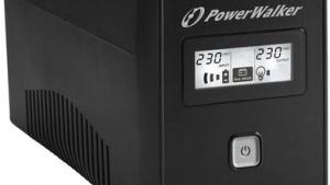 PowerWalker VI 850 LCD FR - cichy i kompaktowy zasilacz awaryjny Biuro prasowe