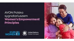 Avon Polska włącza się do inicjatywy ONZ na rzecz równości płci Biuro prasowe