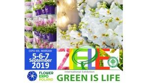 Natural Entry for million market. FLOWER EXPO POLAND 2019