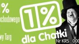 Twój 1% dla CHATKI
