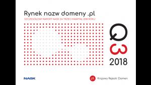 Ponad 2,58 mln nazw w domenie .pl. Pierwszy wzrost od ponad 2 lat.