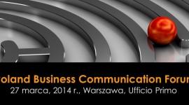Druga edycja Business Communiation Forum 2014