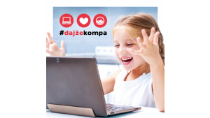 Jak #DajżeKompa obchodzi Dzień Dziecka? Przekazuje kolejne komputery! Biuro prasowe