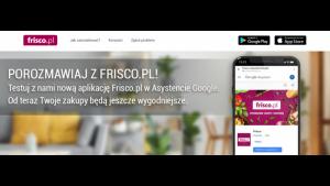 Nowa jakość w e-grocery. Zakupy na Frisco.pl z Asystentem Google Biuro prasowe