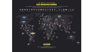Toyota liderem sprzedaży w największej liczbie krajów