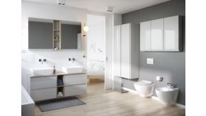 Jak połączyć łazienkę z sypialnią? Niestandardowe wnętrze, które zachwyca Biuro prasowe