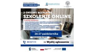 Szkolenie online dla NGO - planowanie działań i potrzeb, pozyskiwanie funduszy