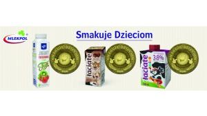 Najmłodsi pokochali smaki Mlekpolu - Smakuje Dzieciom 2020