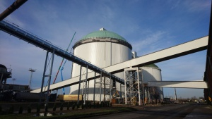 Membrany Protan na kopule silosa