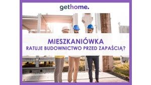 Mieszkaniówka ratuje budownictwo przed zapaścią? Biuro prasowe