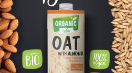 Kampania napojów roślinnych Sante Organic