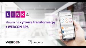 LINK4 stawia na cyfrową transformację z WEBCON BPS