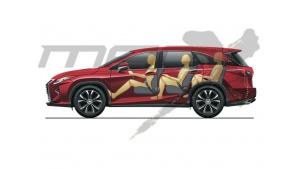Siedmiomiejscowy Lexus RX już wkrótce Biuro prasowe