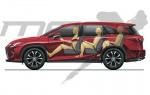 Siedmiomiejscowy Lexus RX już wkrótce