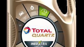 Nowe etykiety oraz kształt opakowań olejów silnikowych Total Quartz
