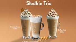 Deserowe trio kawowe Costa Coffee na pyszną osłodę każdego dnia