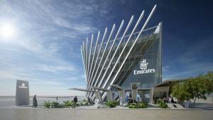 Linie Emirates prezentują swój pawilon na Expo 2020 w Dubaju