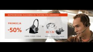 Profesjonalne słuchawki Plantronics do końca 2017 roku z rabatem 50%