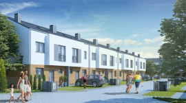 Postępy na budowie osiedla Rodzinne Podolany