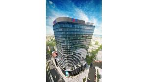 Hanza Tower w Szczecinie: duże mieszkania z widokiem na panoramę miasta Biuro prasowe