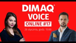 Pierwszy DIMAQ Voice Online w nowym roku już 26 stycznia!
