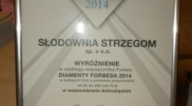 Słodownia Strzegom w gronie Diamentów Forbesa 2014