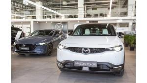 Elektryczna Mazda MX-30 z Ekodopłatą dla każdego klienta