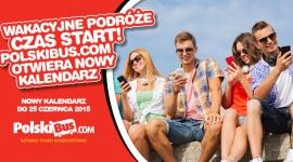 Wakacyjne podróże czas start! PolskiBus.com otwiera nowy kalendarz