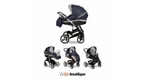 NOWOŚĆ!!! Wózek Indigo Navi Scotch 2w1 marki Indigo Pico Baby