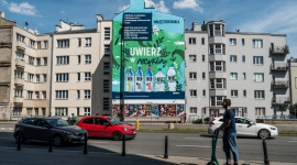 Nałęczowianka odsłania mural pochłaniający zanieczyszczenia