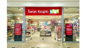 Księgarnie Świat Książki z dwoma salonami w Galerii Krakowskiej