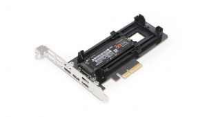 Icy Dock EZConvert Ex MB987M2P-B - adapter M.2 NVMe SSD do PCIe 3.0 x4
