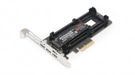 Icy Dock EZConvert Ex MB987M2P-B - adapter M.2 NVMe SSD do PCIe 3.0 x4
