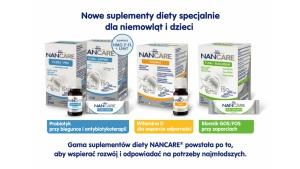 Wspieraj rozwój dziecka razem z NANCARE – NOWE suplementy diety dla dzieci Biuro prasowe