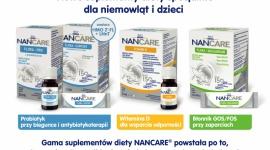 Wspieraj rozwój dziecka razem z NANCARE – NOWE suplementy diety dla dzieci