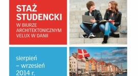 XIII edycja konkursu VELUX o staż w Danii