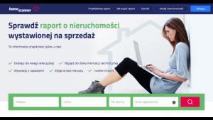 Homescanner.pl - obiektywne raporty o sprzedawanych nieruchomościach